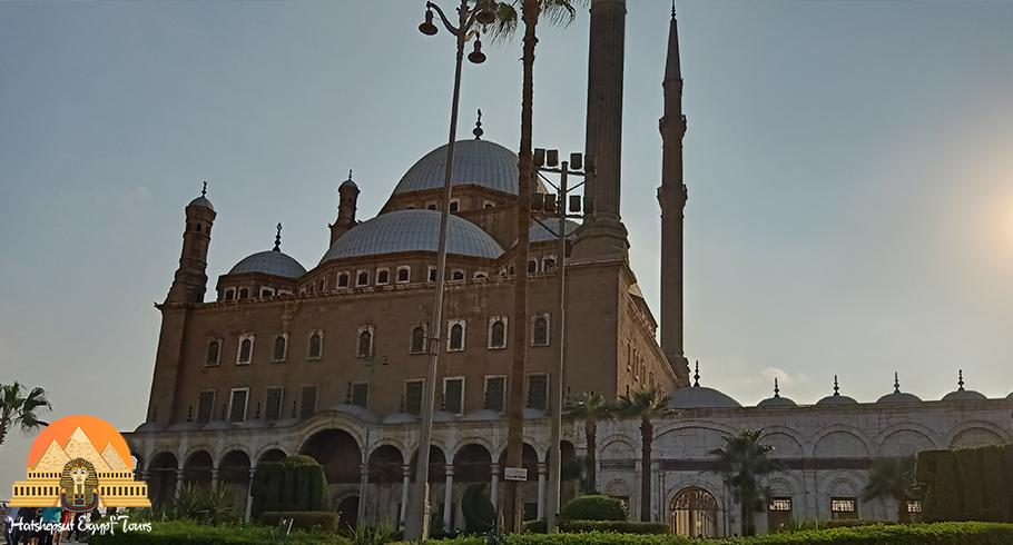 The mosque of Mohamed Ali in the Citadel